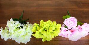 White Hydrengias Bouquets