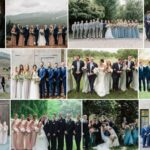 Bridesmaid and Groomsmen Colors Outfits