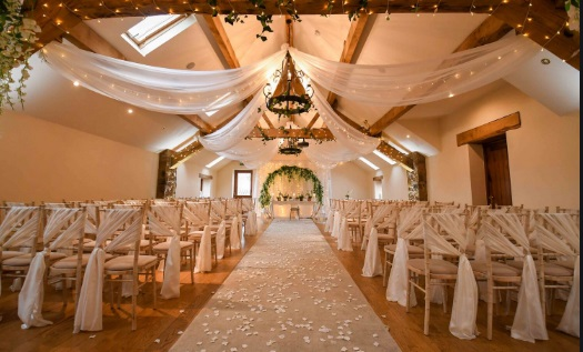 How much should a wedding venue cost? What is the most popular wedding venue? Is owning a wedding venue profitable? What should a wedding venue include?
