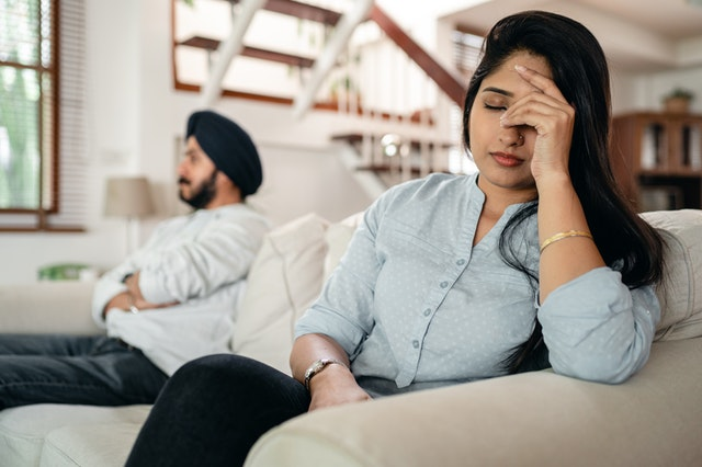 feeling depressed after marriage