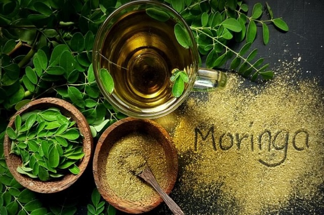 Homemade drinks to boost the immune system with Moringa leaf decoction