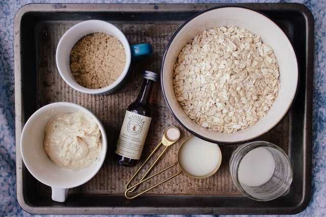 Breakfast for gastritis patients with oatmeal
