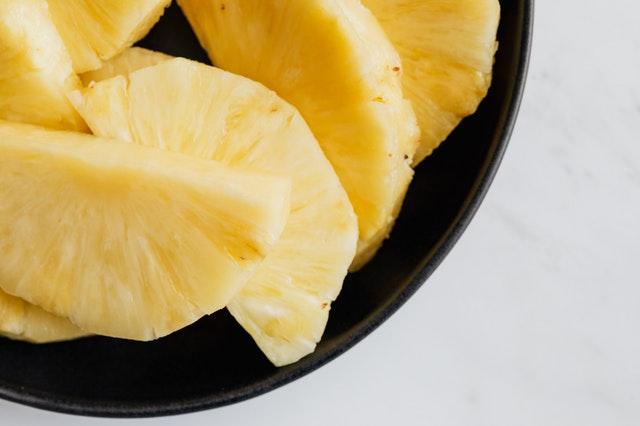Eat pineapple