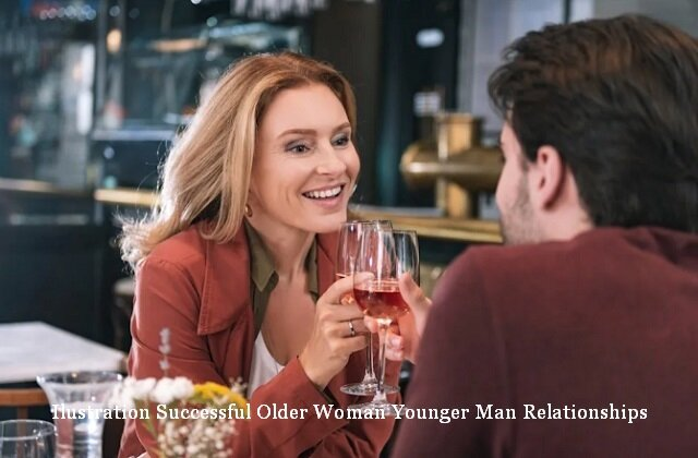 Successful Older Woman Younger Man Relationships