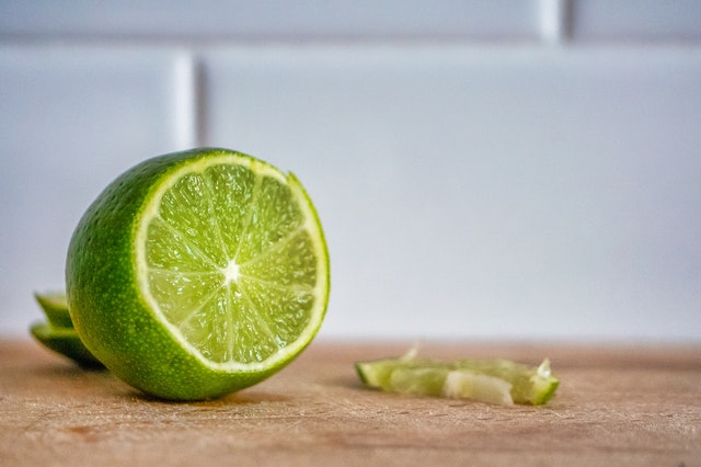 lime to reduce carbs in rice