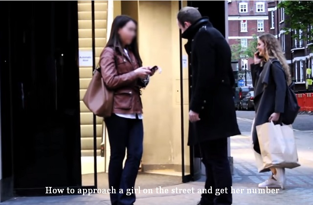How to approach a girl on the street and get her number