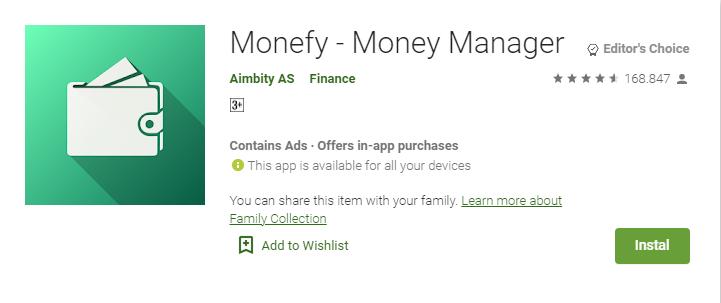 best couple budget app monefy