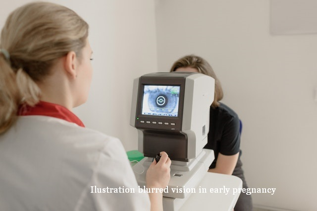 blurred vision in early pregnancy